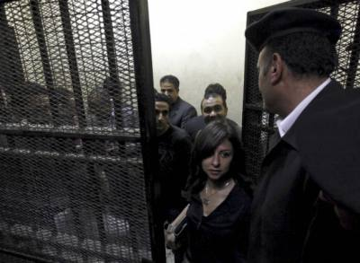NGO trial, Cairo, March 8, 2012 (Mohamed Abd El Ghany/Courtesy Reuters).