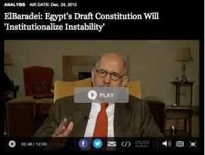 ElBaradei PBS
